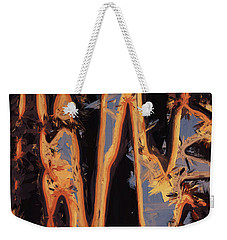 Color Abstraction Xli Weekender Tote Bag