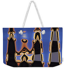 Color Abstraction Xliii Weekender Tote Bag