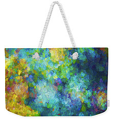 Color Abstraction Xliv Weekender Tote Bag