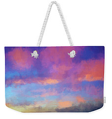Color Abstraction Xlviii - Sunset Weekender Tote Bag