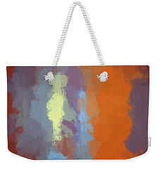 Color Abstraction Xxiii Sq Weekender Tote Bag