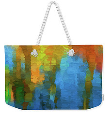 Color Abstraction Xxxi Weekender Tote Bag