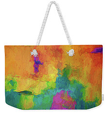 Color Abstraction Xxxiv Weekender Tote Bag