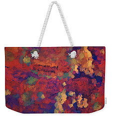 Color Abstraction Xxxv Weekender Tote Bag
