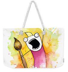 Color All The Water Weekender Tote Bag