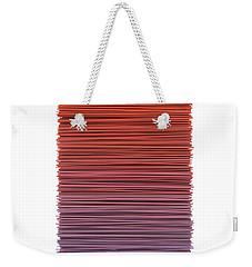 Color And Lines 3 Weekender Tote Bag