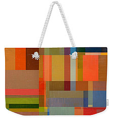 Color And Texture Overlay 2.0 Weekender Tote Bag