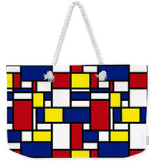 Color Box Weekender Tote Bag by Now