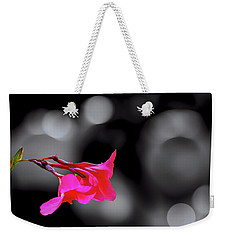 Color By Fuchsia Weekender Tote Bag