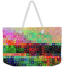 Color Coded Weekender Tote Bag