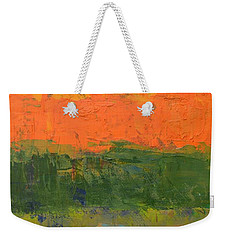 Color Collage Four Weekender Tote Bag by Michelle Calkins