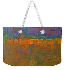 Color Collage One Weekender Tote Bag by Michelle Calkins