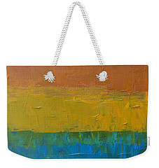 Color Collage Three Weekender Tote Bag by Michelle Calkins