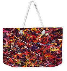 Color Crayons Weekender Tote Bag
