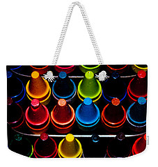 Weekender Tote Bag featuring the photograph Color Creation by Colleen Coccia