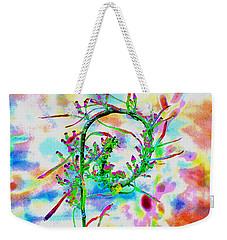Color Curl Weekender Tote Bag