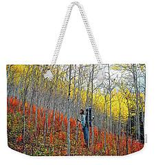 Color Fall Weekender Tote Bag
