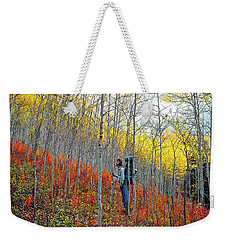 Color Fall Weekender Tote Bag