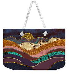 Color Fields Weekender Tote Bag by Katherine Smit