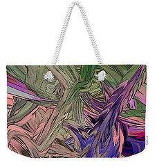 Color Flow 7 Weekender Tote Bag