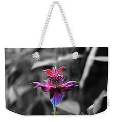 Color Flower Art Weekender Tote Bag by David Stasiak