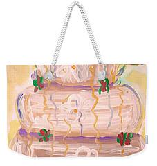 Color In A Wedding Cake Weekender Tote Bag