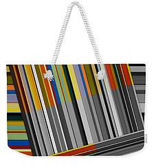 Color In Black And White Weekender Tote Bag by Michelle Calkins