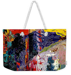 Color Injuction Weekender Tote Bag