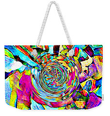 Color Lives Here Weekender Tote Bag