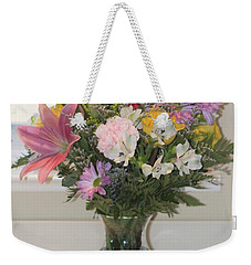Color Me Happy Weekender Tote Bag by Nance Larson