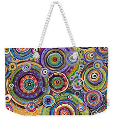 Color Me Happy Weekender Tote Bag