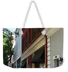 Weekender Tote Bag featuring the photograph Color Me Main St Usa by Skip Willits