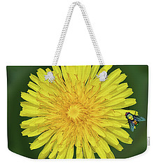 Color Me Yellow Weekender Tote Bag