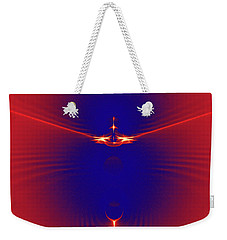 Color Meets Energy Weekender Tote Bag