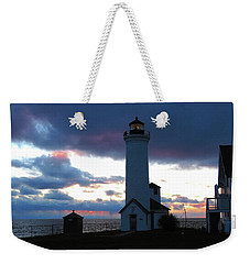 Color Of December, Tibbetts Point Lighthouse Weekender Tote Bag