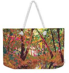 Color Of Forest Weekender Tote Bag