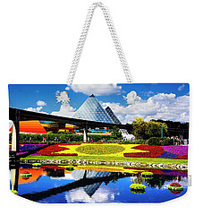 Weekender Tote Bag featuring the photograph Color Of Imagination by Greg Fortier