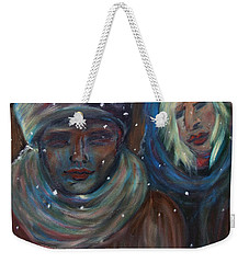 Color Of Winter Weekender Tote Bag