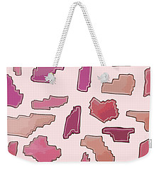 Color Pattern 2 Weekender Tote Bag