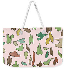 Color Pattern 3 Weekender Tote Bag
