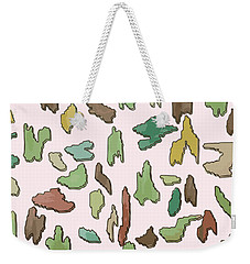 Color Pattern 3d Weekender Tote Bag