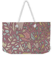 Color Pattern 4 Weekender Tote Bag