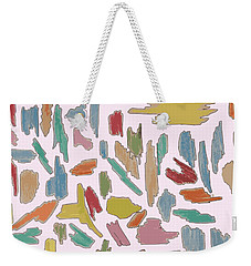 Color Pattern 5 Weekender Tote Bag