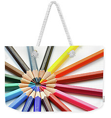 Color Pencils Weekender Tote Bag