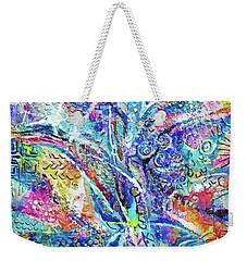 Color Play 1 Weekender Tote Bag