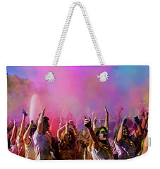 Color Sky Weekender Tote Bag
