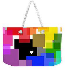 Color Test Weekender Tote Bag