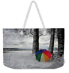 Color To The Melancholy Weekender Tote Bag