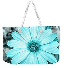 Color Trend Blue Blossom Weekender Tote Bag