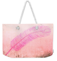 Color Trend Feather In The Wind Weekender Tote Bag